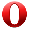 Logo des Opera Browsers