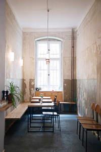Küchenchef im Neumanns Cafe in Berlin