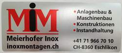 Logo von Meierhofer Inox AG