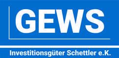 Logo von GEWS Investitionsgüter Schettler e.K.