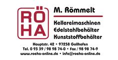 Logo von RÖHA Kellereimaschinen