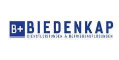 Logo von Biedenkap Dienstleistungen & Betriebsauflösungen