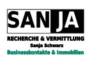 Logo von SANJA Schwarz RECHERCHE & VERMITTLUNG Bu
